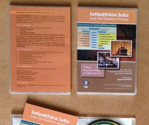 Satipatthana Video Pack Photo Container
